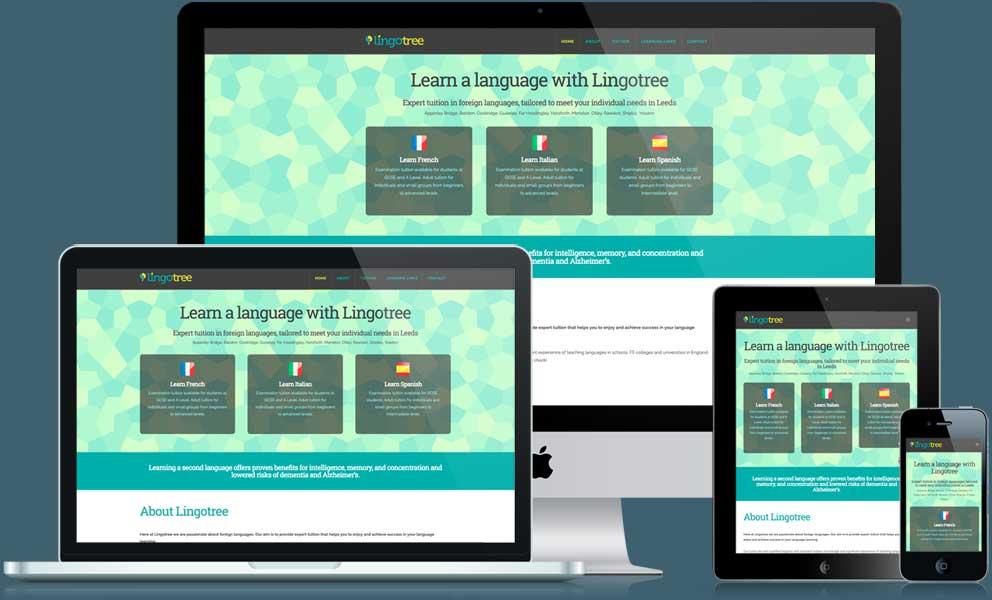 Lingotree website