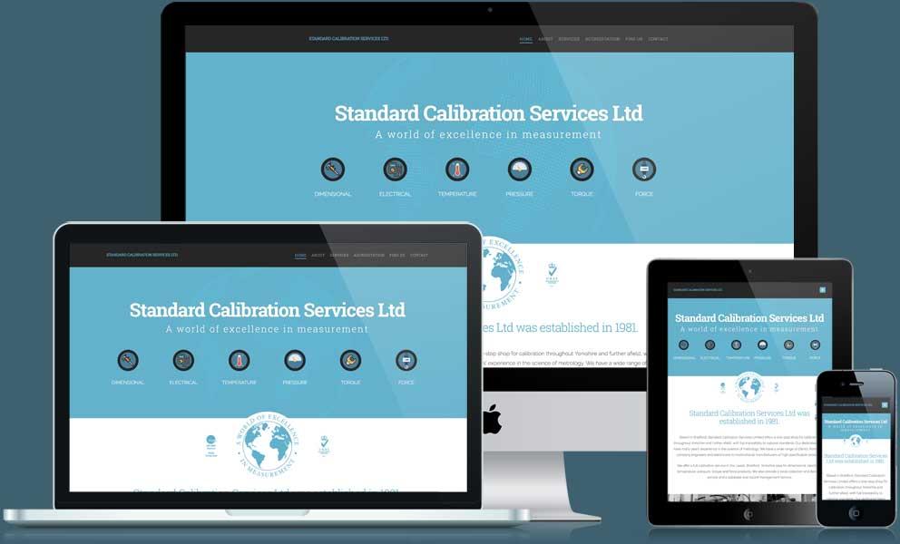 Standard Calibration Services website